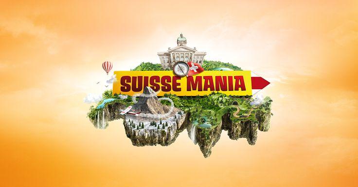 Suisse Mania - Reise mit dem Heissluftballon durch die Schweiz und lass dir die Geschichten zu den entdeckten Sehenswürdigkeiten erzählen.
