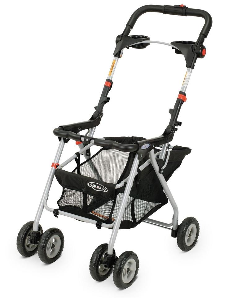 Graco SnugRider Infant Car Seat Frame Stroller Black