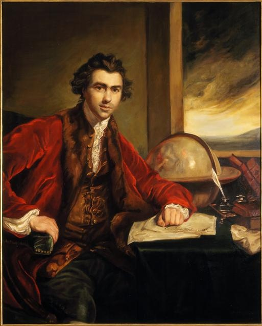 Sir Joseph Banks... The botanist on board Captain Cook's Endeavour.