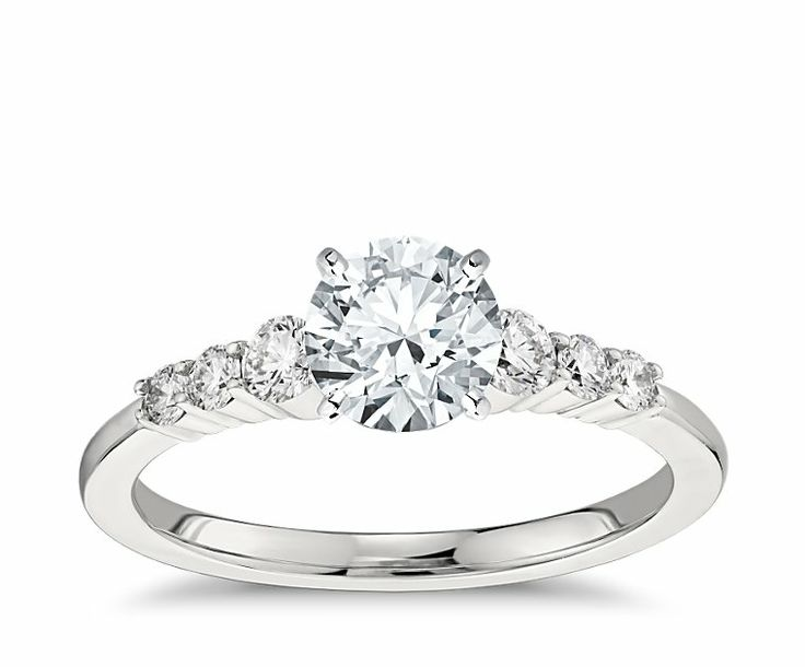 build your own ring design your own diamond ring blue nile - Build Your Own Wedding Ring