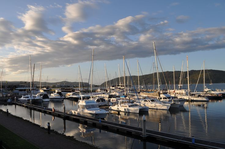 Knysna waterfront and harbour