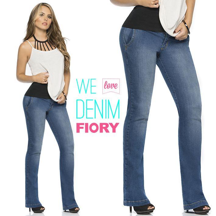 We love denim!! Jueves de DENIM FIORY! <3