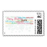 Christmas Postage #stamps #greetings #cards #mail