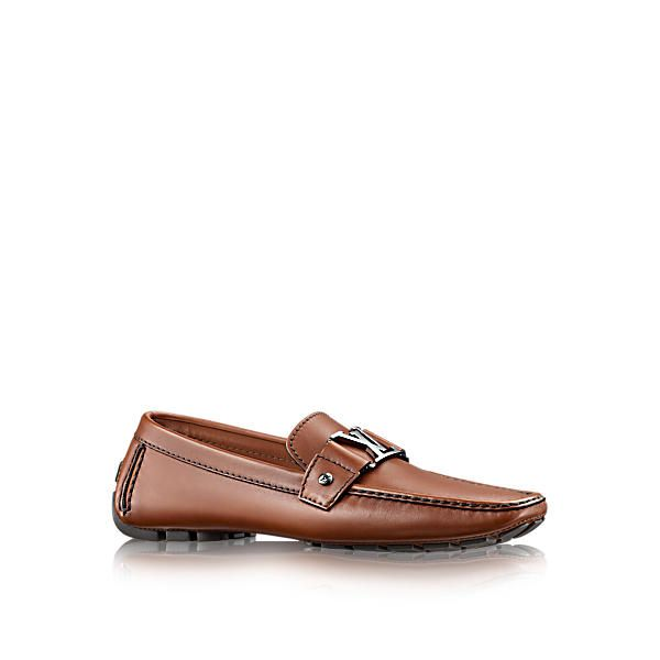 Discover Louis Vuitton Monte Carlo Moccasin Louis Vuitton's iconic initials  loafer features a hand-stitched