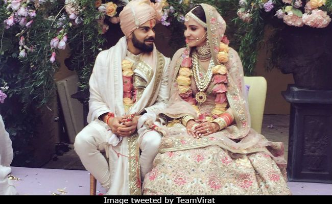 In the viral video, Virat is singing Mere Mehboob while Anushka, dressed in casuals - tee and pants - can be seen cheering for the hubby