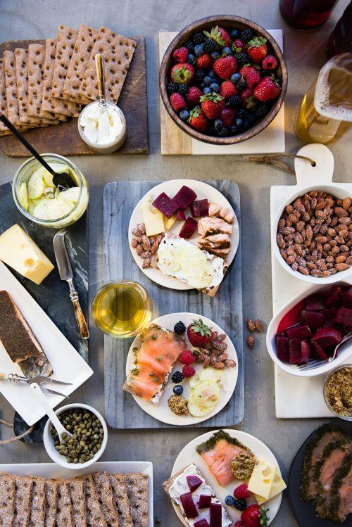 No Cook, No Prep! Scandinavian French menu summer dinner quick easy light light-noms noms healthy
