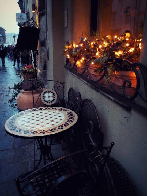 Christmas atmosphere. Krakow, Poland