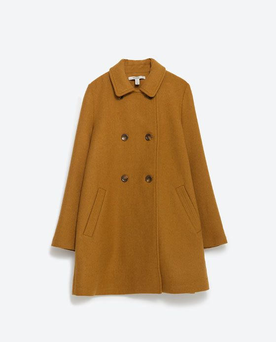 Image 8 of CAPE COAT from Zara