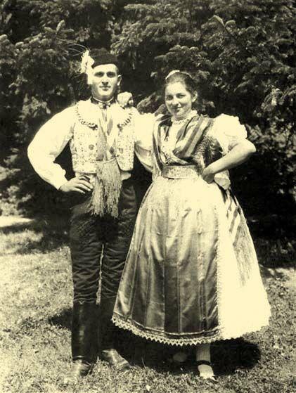 Brautpaar Kapuvár, Kom. Győr-Sopron