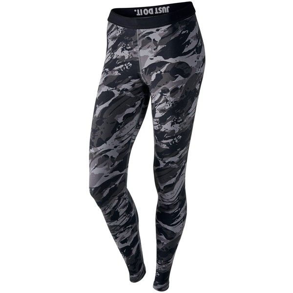 Nike Sportswear Leggings ($40) ❤ liked on Polyvore featuring pants, leggings, slim pants, print pants, nike, cotton print leggings and cotton leggings