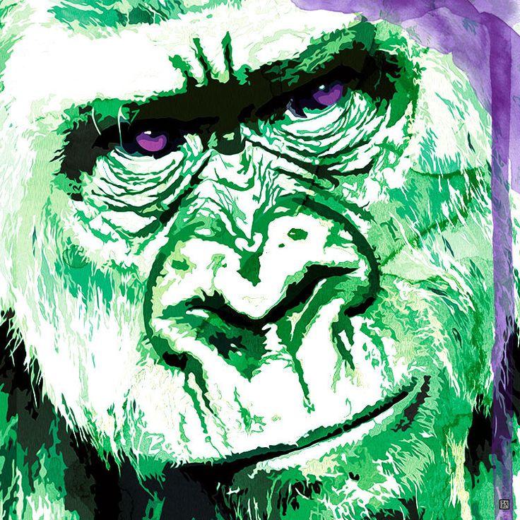 Rilla in the Hulk - Stretched Canvas Artwork & Ready to Hang | Mokosozo