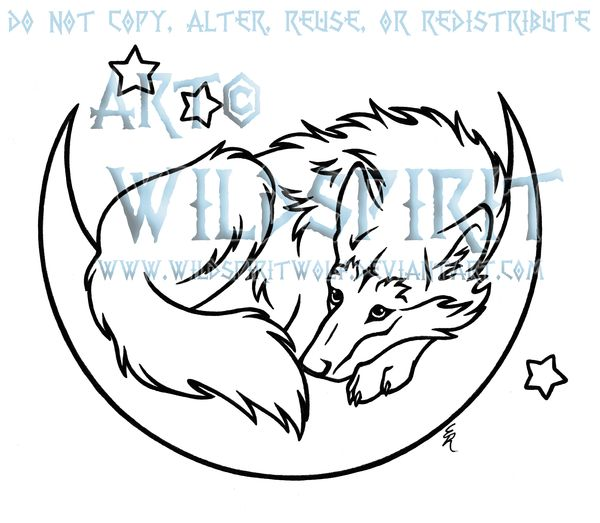 Lineart Wolf Tattoo : Best wolf lineart line art images on pinterest