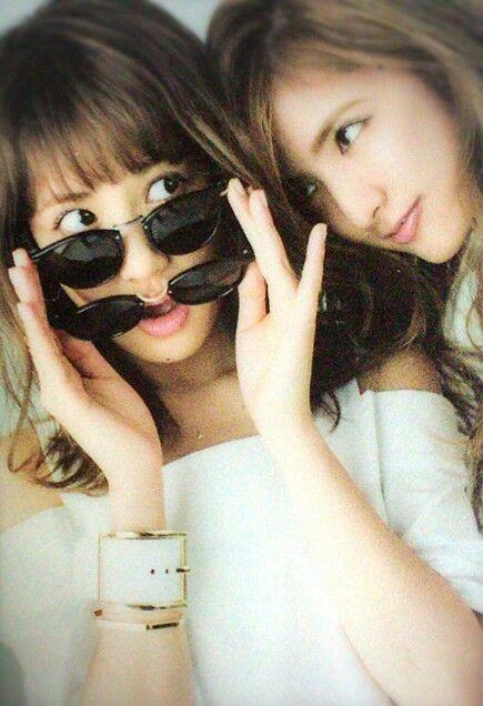 E-girls Happiness Flower 藤井夏恋 藤井萩花 Karen Fujii  Shuuka Fujii