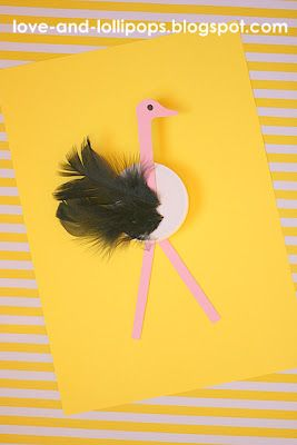 Love and Lollipops: O is for Ostrich -- use this for dice game, roll an ostrich