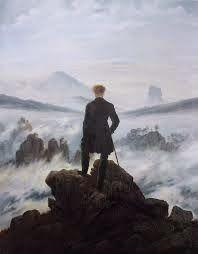 I Letterandi: Caspar David Friedrich- Viandante sul mare di nebb...