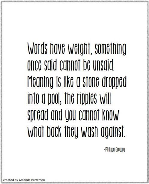 Quotable - Philippa Gregory