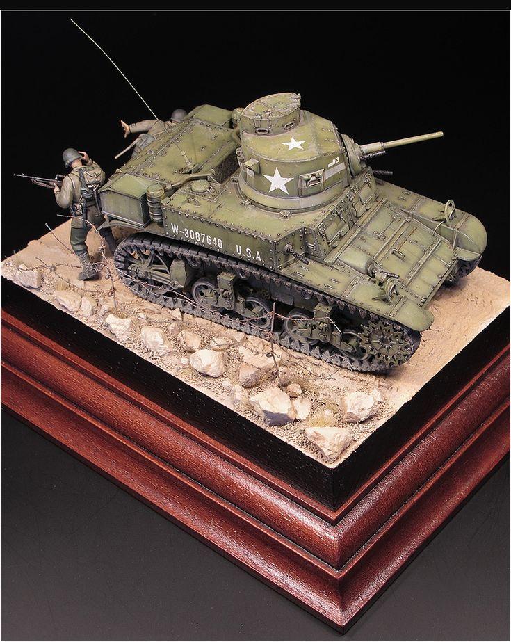 M3 Stuart 1/35 Scale Model