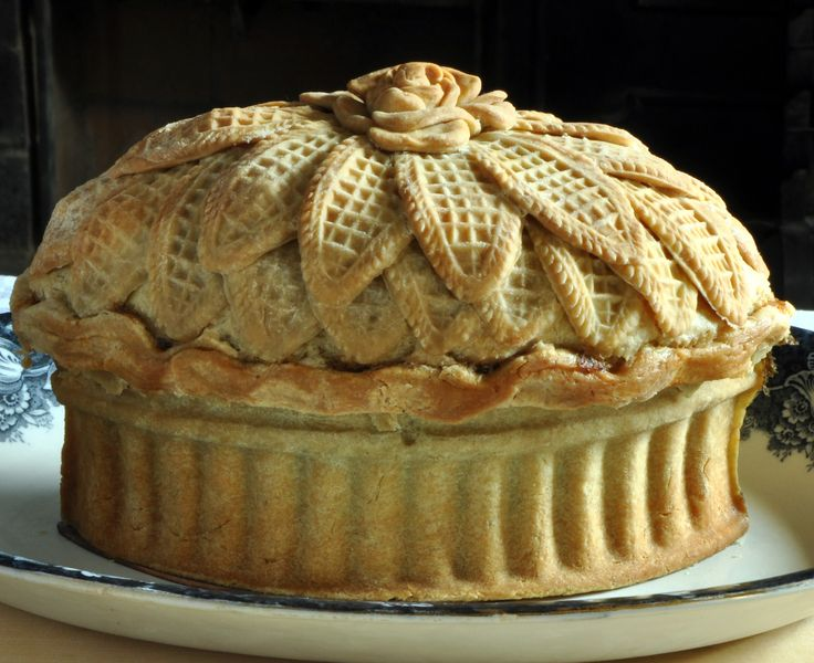 Historic pie hot out of the time machine