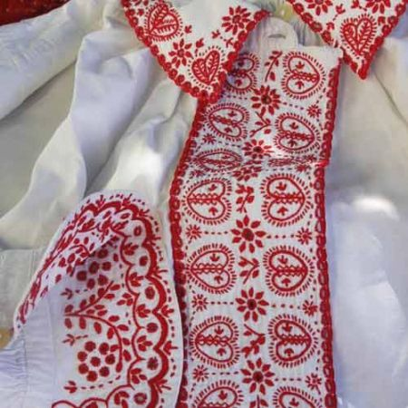 ++ POLISH EMBROIDERY ++ Lachy Sądeckie embroidery - Poland.