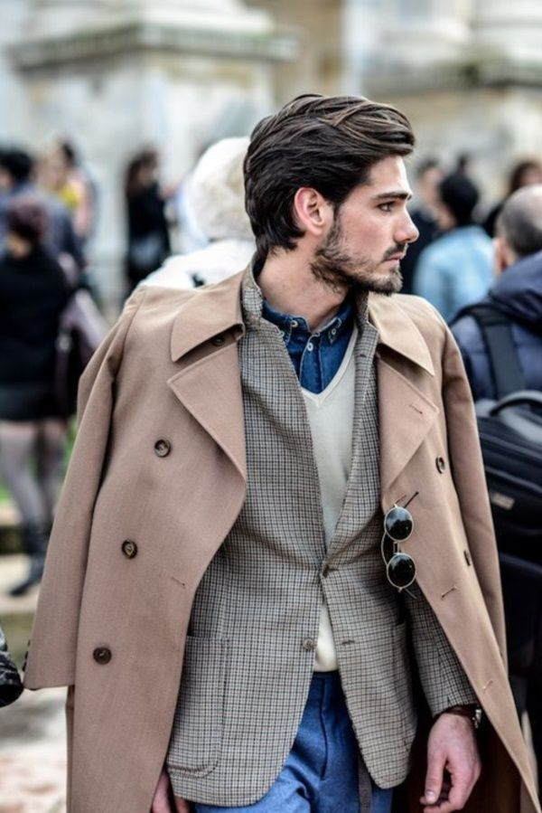 Comfortable and Stylish Medium Hairstyles for men0051