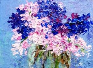 """Hyacinths in bloom"" by Alena Rumak"