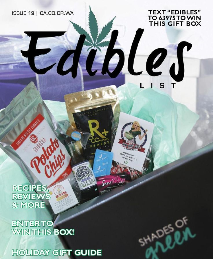 #ClippedOnIssuu from Edibles Magazine December 2015 Issue 19