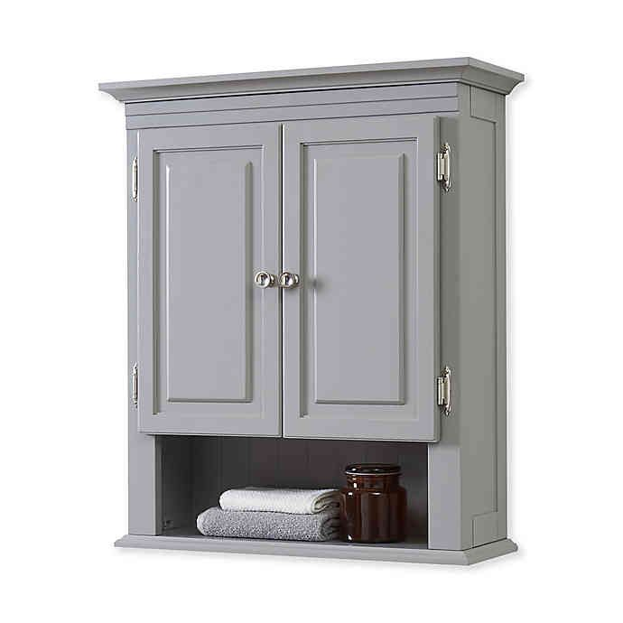 Wakefield No Tools Wall Cabinet Bed Bath Beyond Wall Cabinet Vintage Industrial Furniture Cabinet