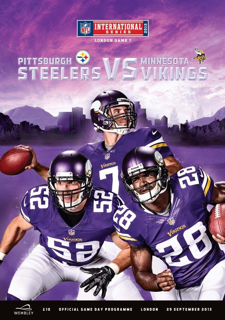 NFL Wembley 2013, Steelers Vs Vikings