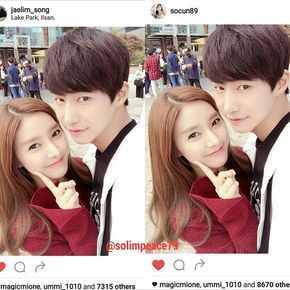 What can i say. Today Solim posted at IG.. The evidence everywhere... SOLIM is REAL.. @jaelim_song @socun89 #kimsoeun #songjaerim #songjaelim #송재림 #김소은 #solimfinity #solim #solimcouple #ourgabsoon #bestcouple #love #wegotmarried #공유파트너계정 #ソンジェリム #宋在臨 #宋再临 #우리갑순이 #金素恩 Picture credit to @jaelim_song & @socun89