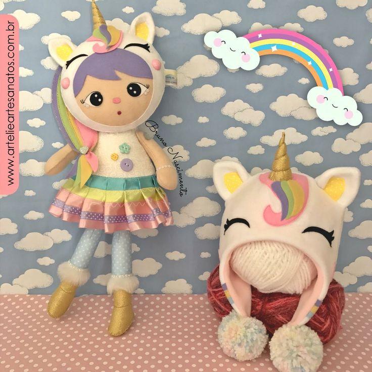 Olá pessoa! Meu nome é Babi! Vim aqui avisar que a nova coleção de bonecas e gorros já está em pré venda! São 6 lindas bonecas e 6 lindos gorros para crianças! Acesse www.artelieartesanatos.com.br e aproveite o desconto de lançamento ;) Envio 22/09/17. <3 #festaafantasia #meninas #meninaunicornio #feltro #feitocomamor #arteliebrunoNascimento #unicornio #gorro #boneca #bonecaunicornio #muitoamorenvolvido