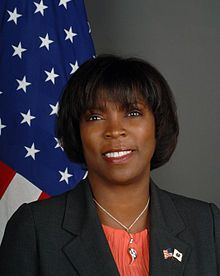 Numero quarantacinque: Ertharin Cousin (born 1957) is, since 2012, the twelfth Executive Director of the United Nations World Food Programme. Fonti: Wikipedia.