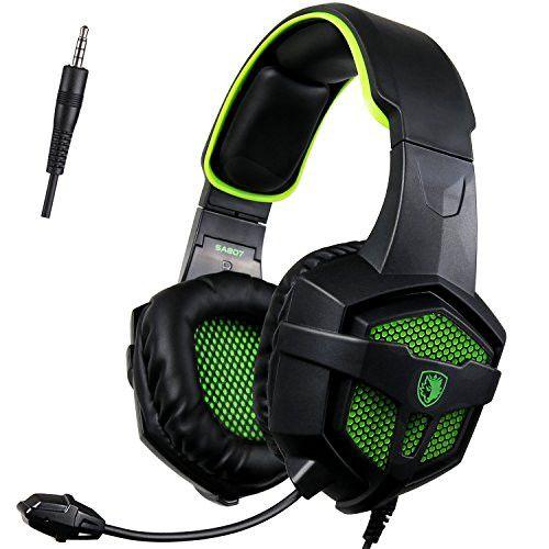 Sades SA-807 Multi-Platform Gaming Headsets - Green