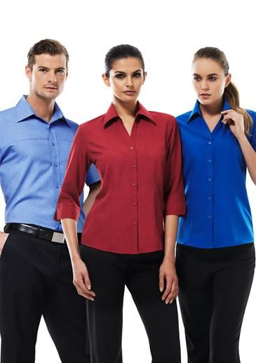 At EmbroidMe we supply a wide range of clothing and apparel for corporate and hospitality uniforms. Need business shirts for work? Check out our fashion clothing range from our supplier www.bizcorporates... for womens and mens suits, business shirts, ladies pleat tops, 3/4 sleeve shirts and more! Contact us today! Visit www.embroidme.co.nz