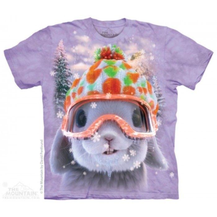 Tricouri The Mountain – Tricou Snow Bunny