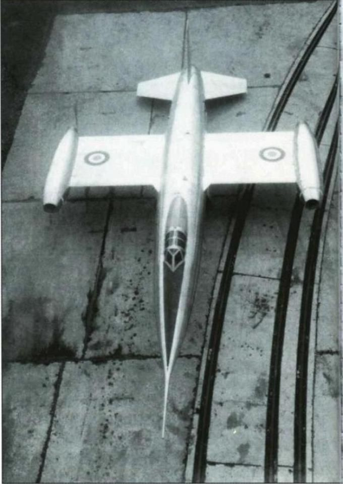 SNCASO SO.9000 Trident, 1953, mixed power (jet, rocket) French interceptor aircraft