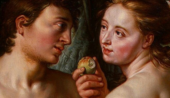 The forbidden fruit wasn't an apple. There is no mention of Adam and Eve eating an apple in the Bible.