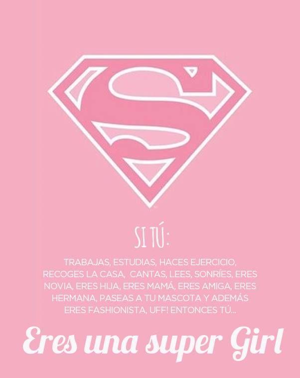 ¿Eres una super girl?   sweetseasons.com.mx