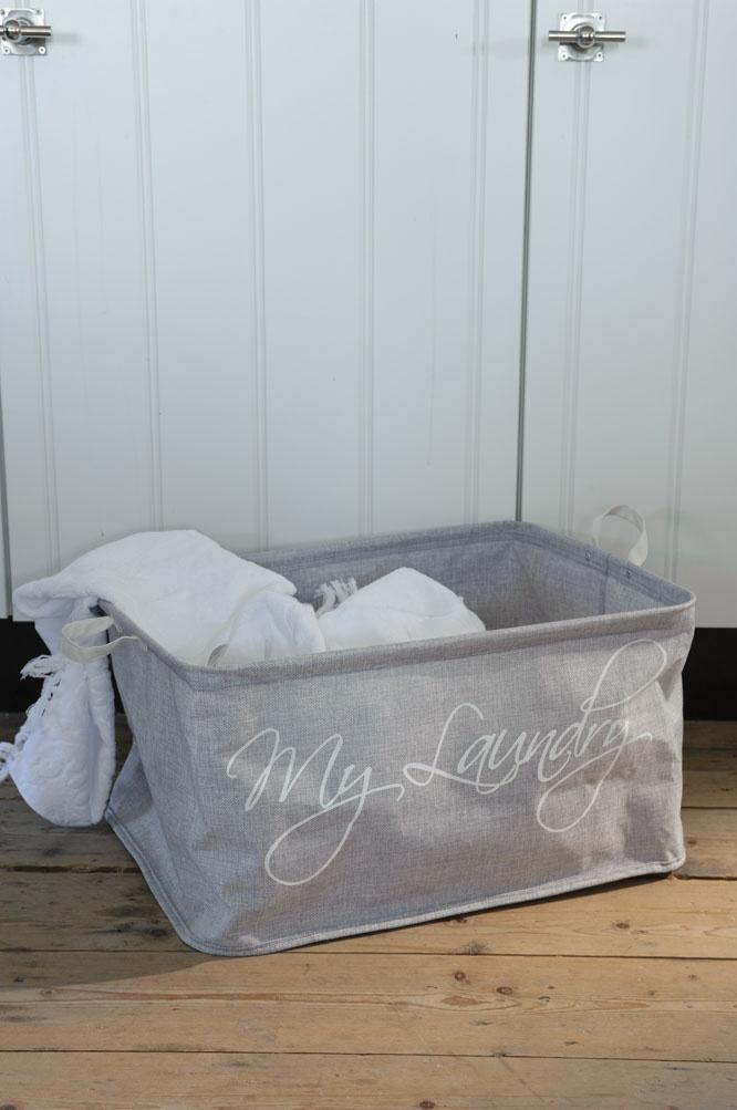 Fresh laundry sack