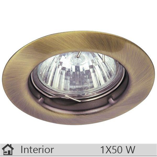 Spot incastrat iluminat decorativ interior Rabalux, gama Spot relight, model 1090 http://www.etbm.ro/corpuri-de-iluminat