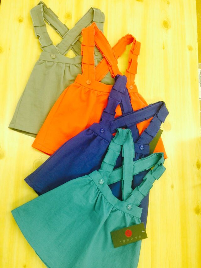 Girls jumper with suspenders gr8 basic many colors matching brothers and sister sets Samuel jr