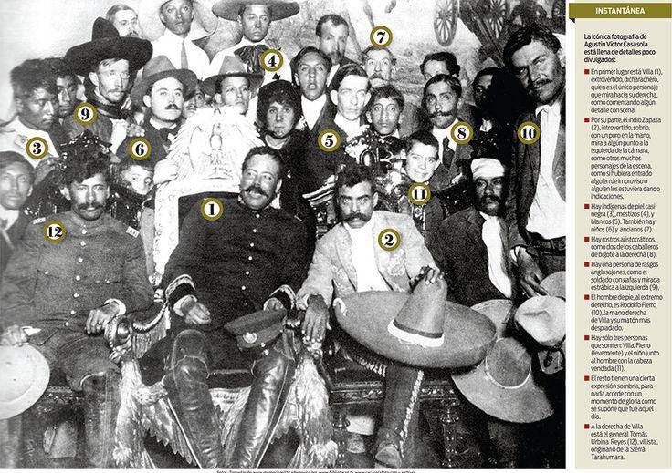 Hoy se cumplen 100 años del encuentro de Villa y Zapata en la Cd de México