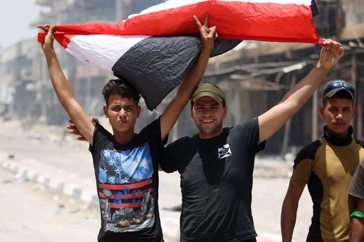 The City Of Fallujah Is Free: ISIS Control In Iraq Crumbles