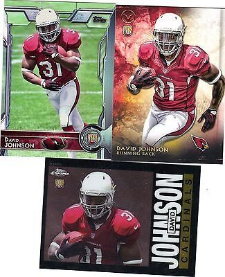 nice 2015 Topps Football DAVID JOHNSON 3 Card Rookie Lot SP Insert Valor Cardinals RC - For Sale View more at http://shipperscentral.com/wp/product/2015-topps-football-david-johnson-3-card-rookie-lot-sp-insert-valor-cardinals-rc-for-sale/
