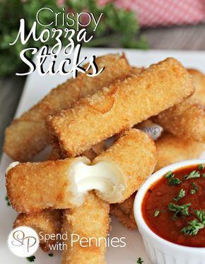 Crispy Mozza Sticks