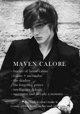 Everything you need to know about Maven Calore   The Red Queen