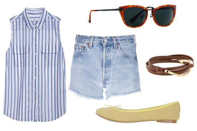 8 New Ways to Style Your Denim Shorts - Style Tips on How to Wear Denim Shorts - Elle
