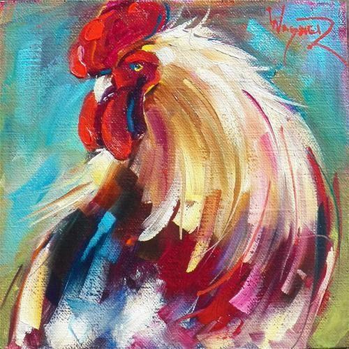 """30 in September - Painting No. 4"" - Original Fine Art for Sale - © Olga Wagner"