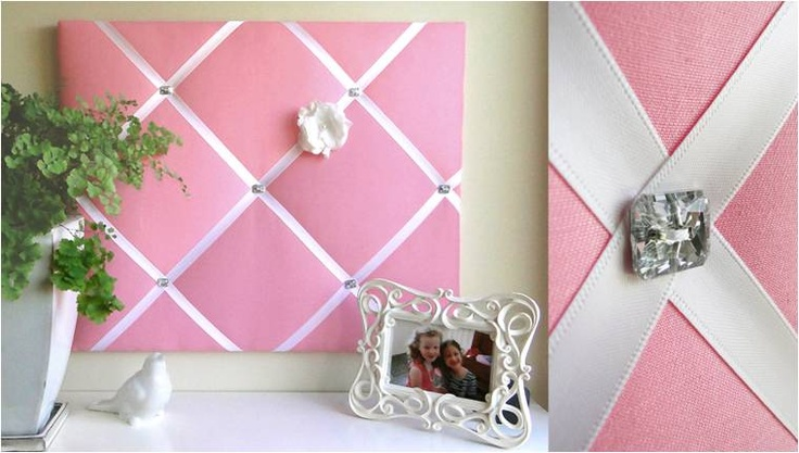 DIY Memo Board - easy tutorial