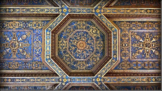 Palazzo Schifanoia, La Sala degli Stucchi, Foto1 - Property and copyrights of (c) FEdetails.net 2014