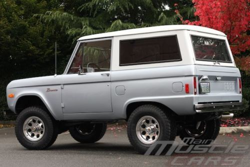 1977 Ford Bronco Silver - Great Driver - Last Year of the Vintage Bronco!, image 11